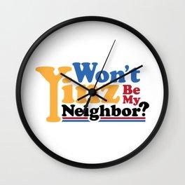 Won't Yinz Be? Wall Clock