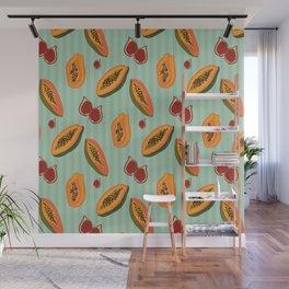 Papayas & Figs Wall Mural