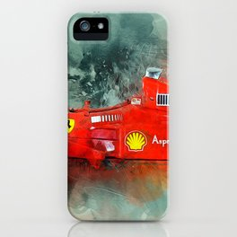 F1 Sports Car iPhone Case