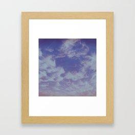 Future Skies Framed Art Print