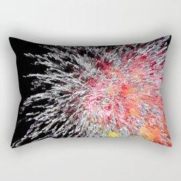 Fireworks Burst Rectangular Pillow