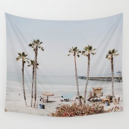 palm trees x / california Wall Tapestry