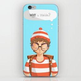 Williamsburg Waldo iPhone Skin