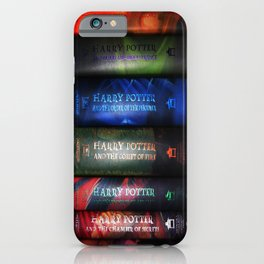 HARRY'S BOOKS COLLECTION iPhone Case