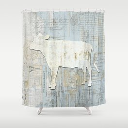 The French Cow Shower Curtain