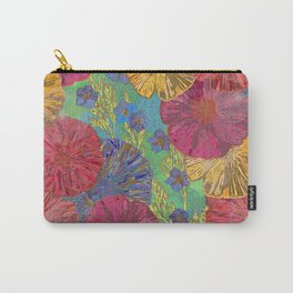 The Parting of the Poppies Carry-All Pouch