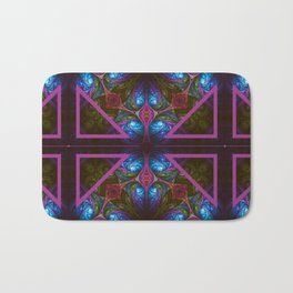 Stained Glass Window Bath Mat