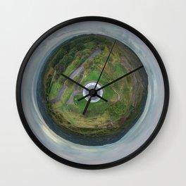 Stardisc tiny planet Wall Clock