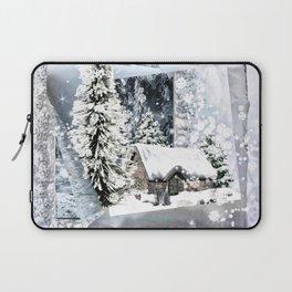 Winterwunderland Laptop Sleeve