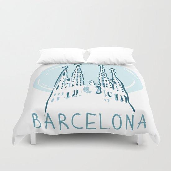 Barcelona 01 Duvet Cover