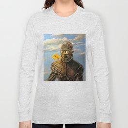 Robot & Flower Long Sleeve T-shirt