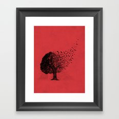 Autumn Birds Framed Art Print