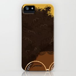 Natural Hair (Kinky) iPhone Case