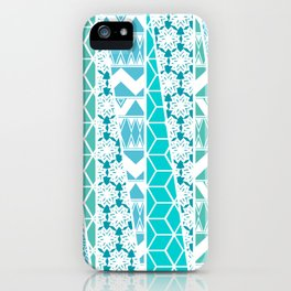 Patterned Triangles iPhone Case