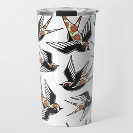 Rose Sparrows Travel Mug