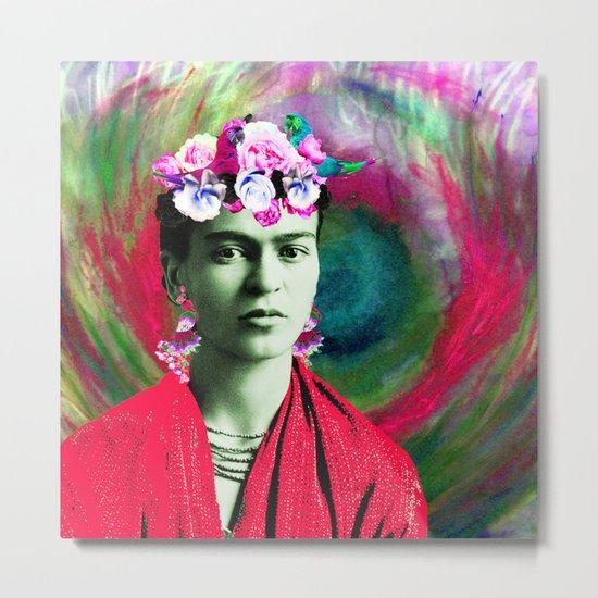 Frida Love's Freeda Metal Print