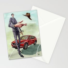 The Road Trip. Mazda CX-5 and Bespoke Everything Stationery Cards
