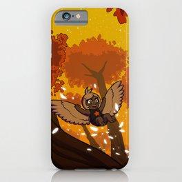 Harp's Sunset Flight iPhone Case
