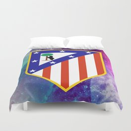 Atletico Madrid FC Galaxy Duvet Cover