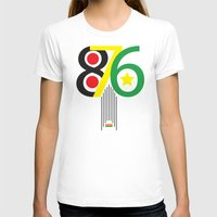 jamaica T-shirts featuring 876 Jamaica Area Code Print by Ahfimi Brands