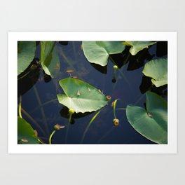 floating world 3 Art Print