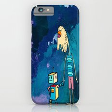 Robot and boy  Slim Case iPhone 6s