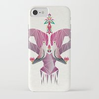 flamingo iPhone & iPod Cases featuring flamingo by Manoou