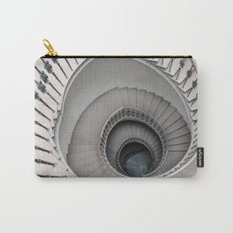 Pretty white spiral staircase Carry-All Pouch