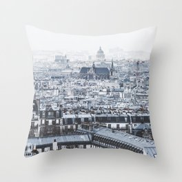 Rooftops - Architecture, Photography Throw Pillow