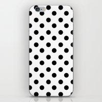 polka iPhone & iPod Skins featuring POLKA by Monica Curugiu