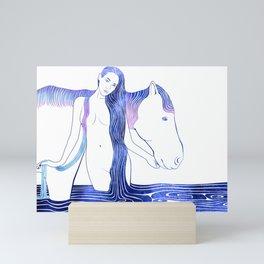 Hipponoe Mini Art Print