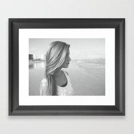 ticktock. Framed Art Print