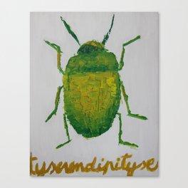 JUNG'S BEETLE Canvas Print