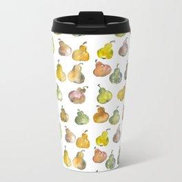 The Pear Party Metal Travel Mug
