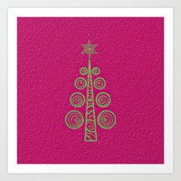 christmas tree Art Prints featuring Christmas Tree by Mr and Mrs Quirynen