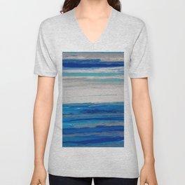 Endless and Infinite Blue Sky Unisex V-Neck