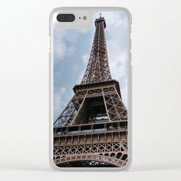 Eiffel Tower XI Clear iPhone Case