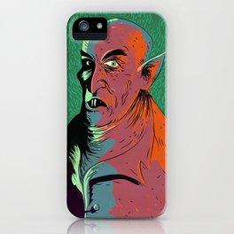 Nosferatu At Rest iPhone Case