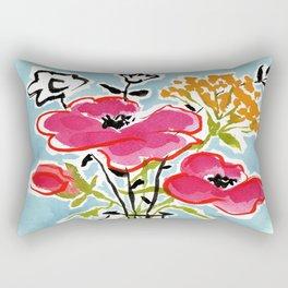 Poppy Impromptu Rectangular Pillow