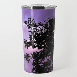 Tree in Purple Travel Mug