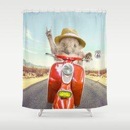 VITO VIAGGI Shower Curtain