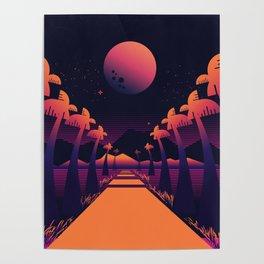 Road Summer Poster