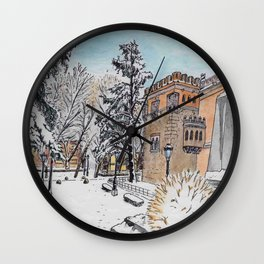 Spanish Palace Wall Clock