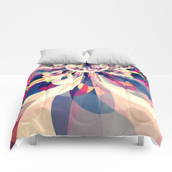 Drops of Color Comforters