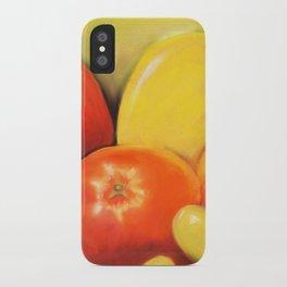 Fruit - Pastel Illustration iPhone Case