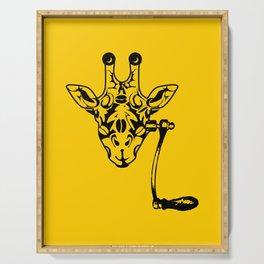 Coffee Giraffe Serving Tray