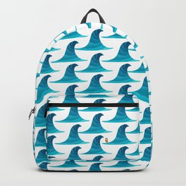 060 - Looking for the perfect wave pattern Backpack