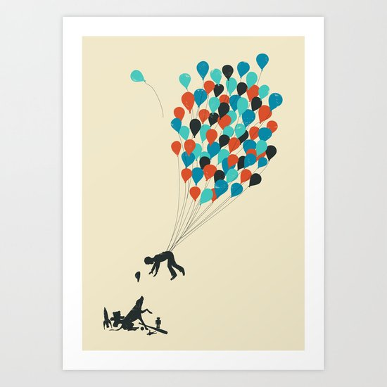 Growing Up Art Print