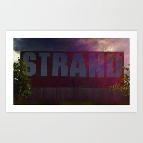 STRAND ... Art Print