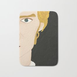 Portrait of Benedict Bath Mat